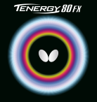 Goma Butterfly Tenergy 80 FX