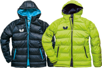 Chaqueta Butterfly Down