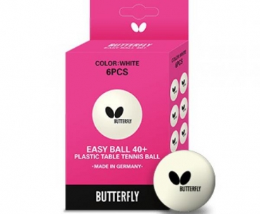 Pelota Butterfly Easy Ball 40+ ( 6 uds )