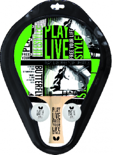 Conjunto Palas de Ping Pong Butterfly TT-Set Free Your Style