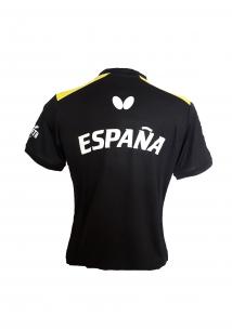 1acbde86e012d Polo Butterfly Negro Selección Española