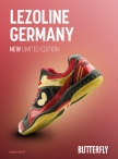 Nueva Zapatilla Butterfly Germany ( limited edition ), 1