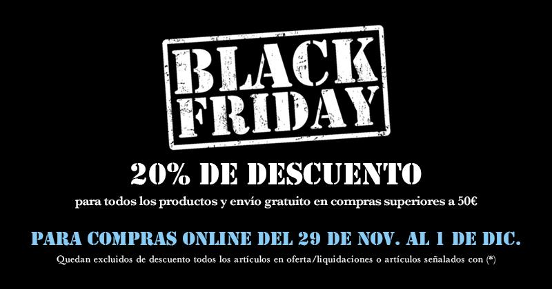 Black Friday Online 2019 (29 Nov - 1 Dic)